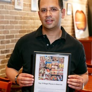 Cresskill Bagel & Cafe Owner Amir